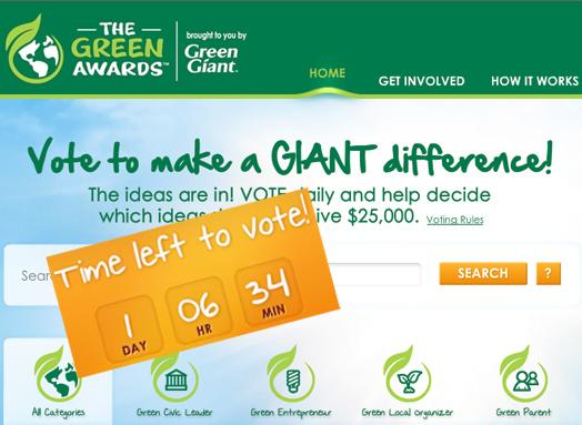 Vote the Greenest Ideas