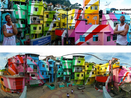 Color is a key to transforming a city