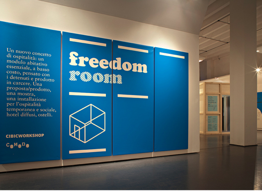 The Social Impact of Milan Design Week 2013 – Project 1: The Freedom Room
