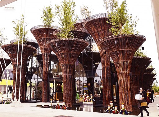 Expo Milano 2015: Pavilions, Clusters and Thematic Areas